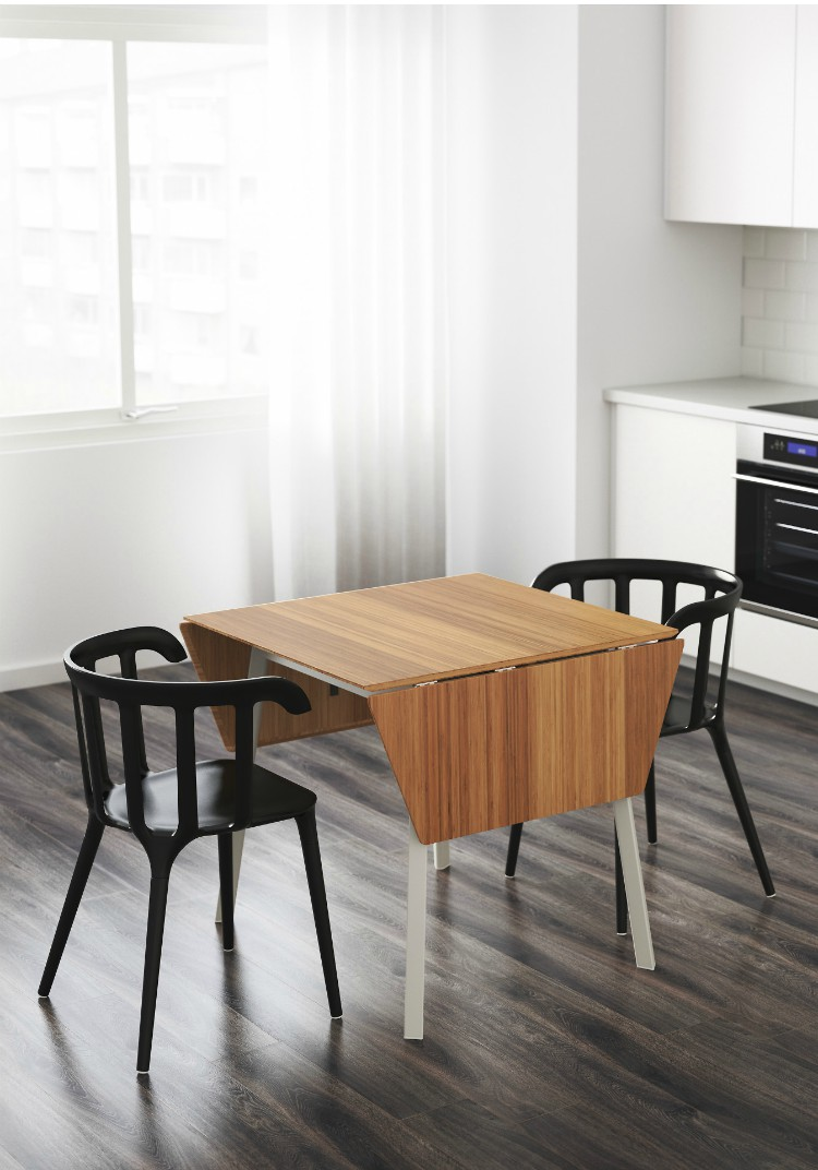 Small Round Dining Table Ikea Twenty Dining Tables That Work Great In Small Spaces Living In A
