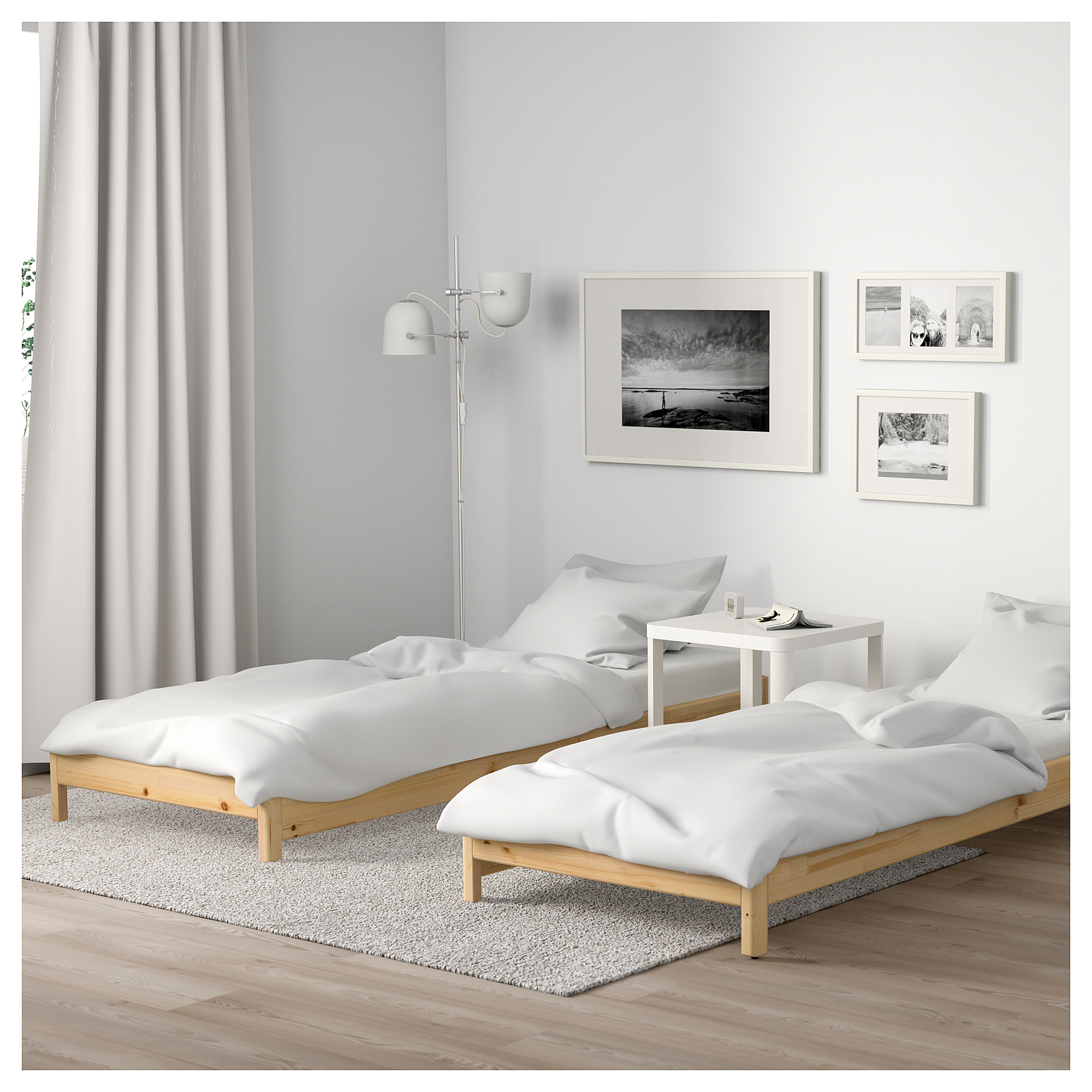 Stackable Twin Beds This Stackable Bed From Ikea Is A Brilliant Solution For Small