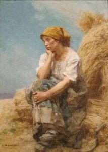 'Peasant_Woman_Resting'_by_Léon_Lhermitte,_Cincinnati_Art_Museum