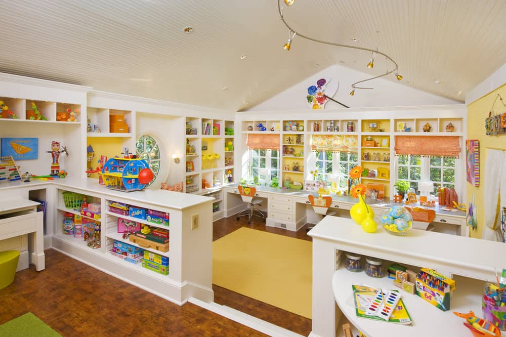 Kids Play Room Ideas Amazing Kids Craft Room House Tour