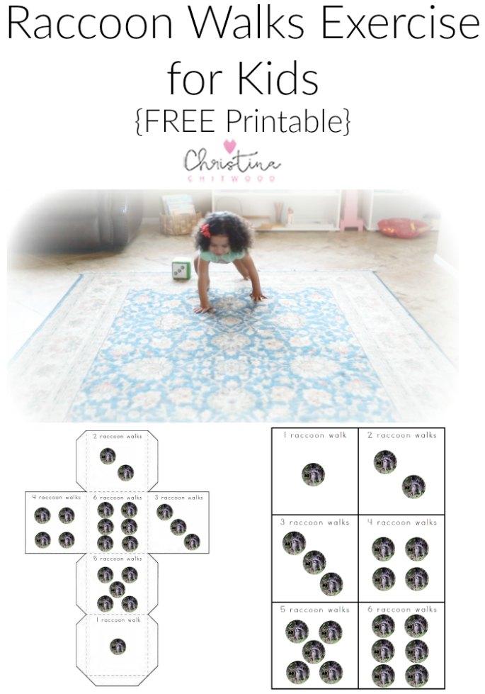 Free Raccoon Printables and Montessori-Inspired Raccoon Activities
