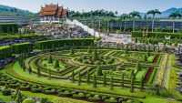 Visiting Nong Nooch Tropical Botanical Garden  One of the ...