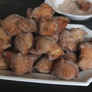Austrian Fried Dough with Cinnamon-Sugar (Gebackene Mäuse)