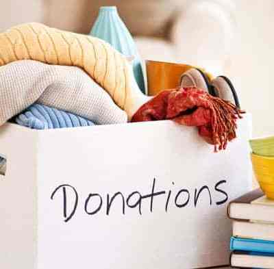 Got clutter? Donate and save on taxes