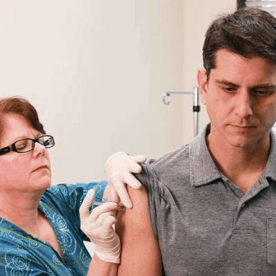 Get your cheap flu shot at the airport