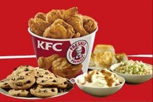 KFC's Family Feast for $19.99