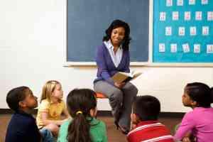 Teacher Reading to Students