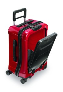 Briggs & Riley suitcases, including the Torq series come with a lifetime warranty.