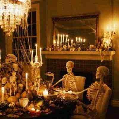 Throw a haunting Halloween bash on a budget