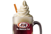 A&W Restaurants pour $2 root beer float