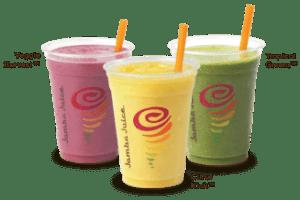 Jamba Juice serves up free morning juice or smoothie