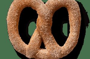 Get a free pretzel at Auntie Anne's