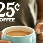 Whole Foods Market: Brewed tea or coffee for 25-cents