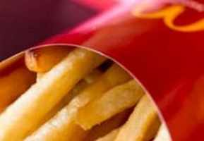Free medium fries at McDonald's on Fridays