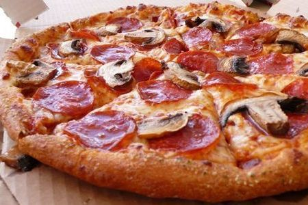 Domino's slices 50% off pizza prices online