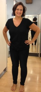 Michele Cruz, after losing 150 pounds using 'The Complete Idiot's Guide to 200, 300 and 400 Calorie Meals.'