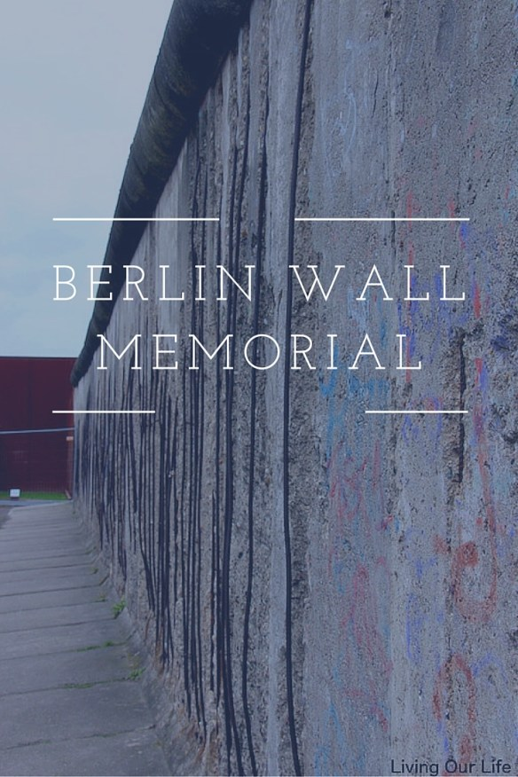 Berlin Wall section in the memorial