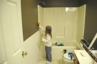 Bathroom remodel - plus the coolest gift ever - Living ...