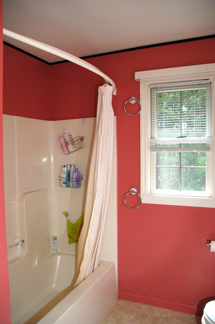 Half Window Blinds $88 Bathroom Makeover (plus A Drool-worthy Diy Window
