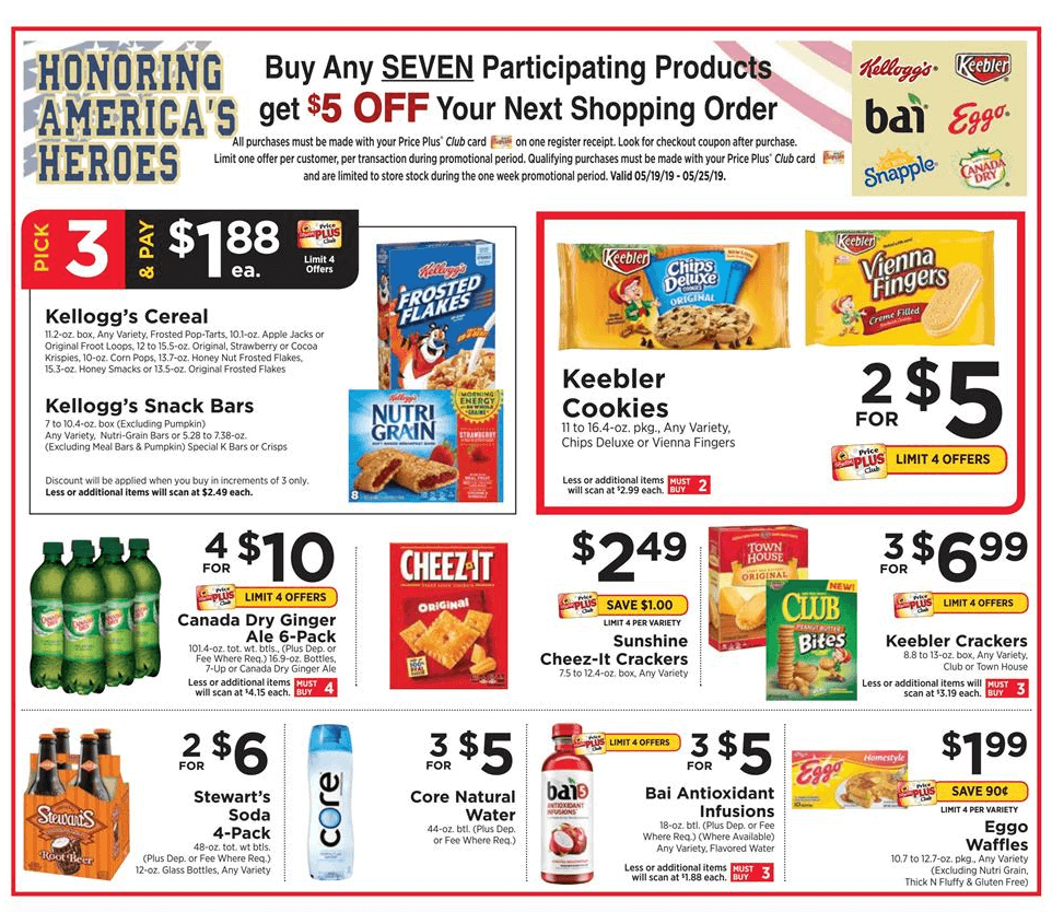 D Deals Update Shoprite Catalina Deal Better Than Free Cheez It Snap D