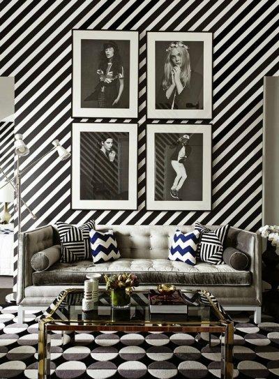 Luxury Living Rooms Designed by Kelly Wearstler