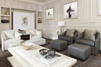 Beautiful living rooms:before and after of a sophisticated ...