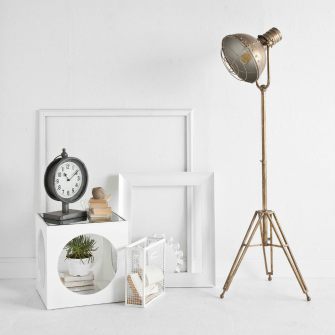 Feature floor lamps in your industrial style living room u2013 Living - floor lamps for living room