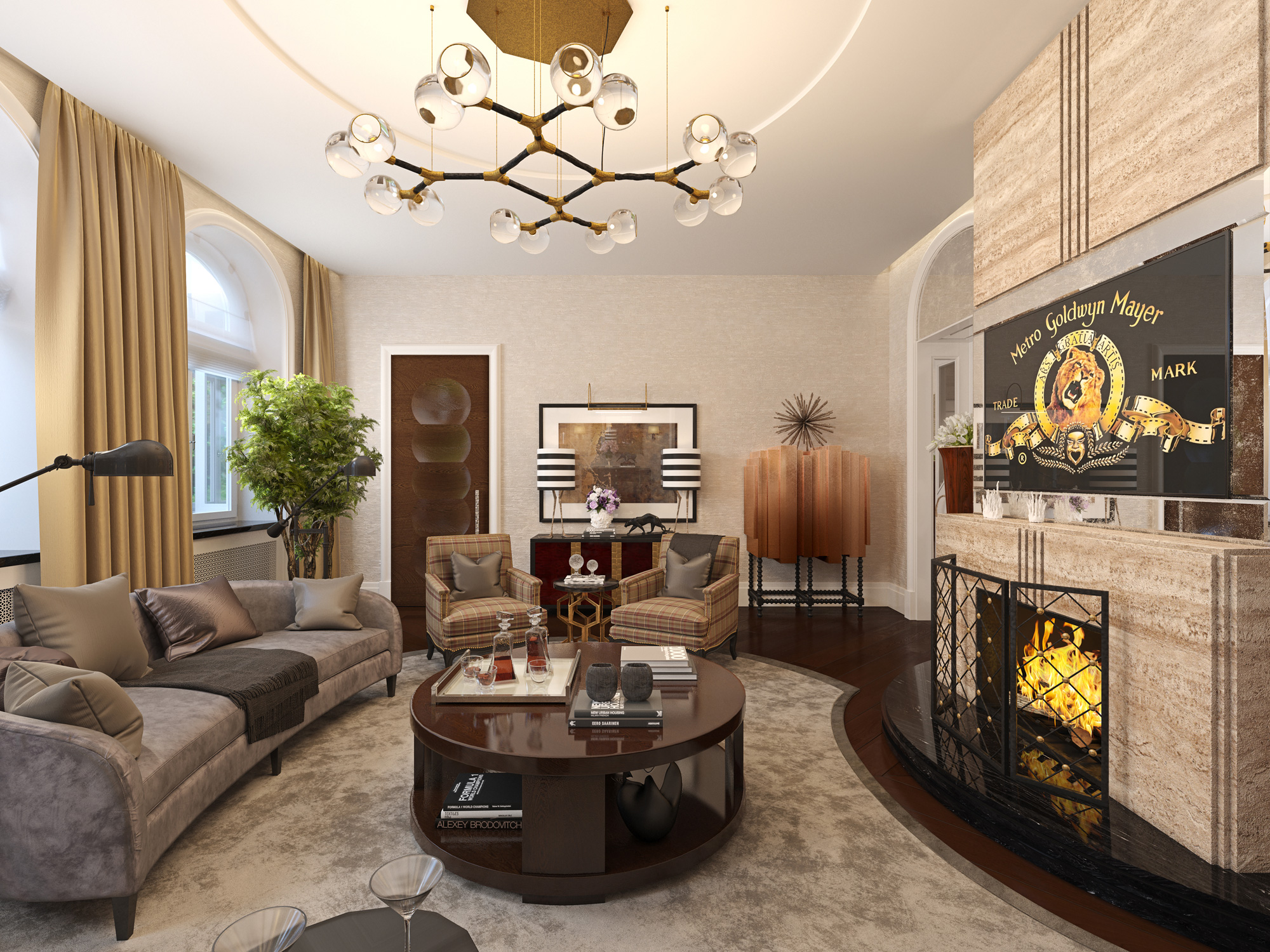 Luxurious Living Room Design 6 Luxury Living Room Ideas With Incredible Lighting Designs