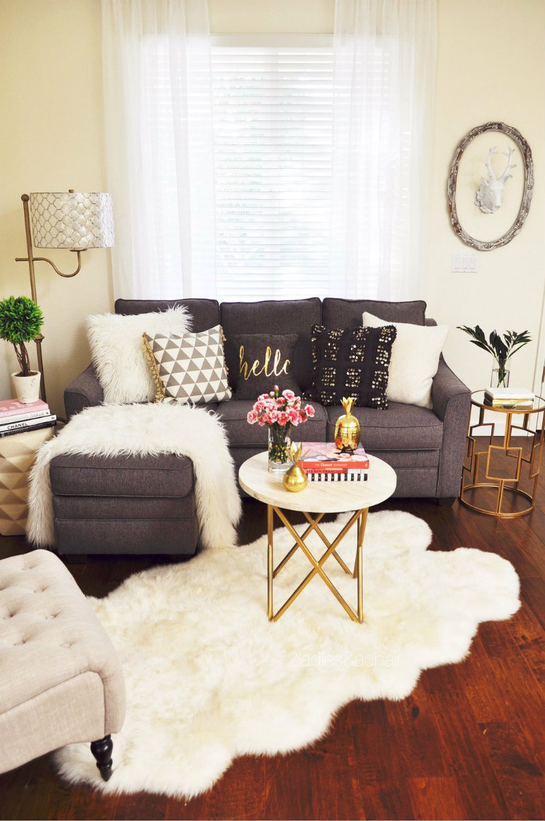 Large Of Small Living Room Space