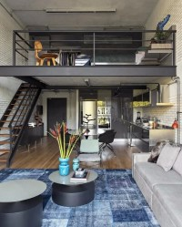 10 Loft-Style Living Room Design Ideas  Living Room Ideas