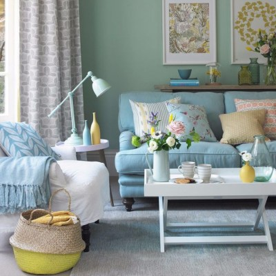 Mood Board: Duck Egg Living Room Ideas for Your Home Decor