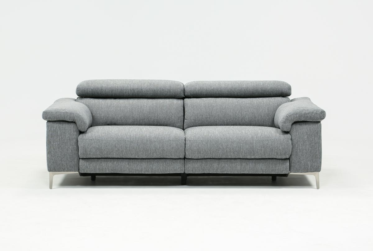 Sofa Relax Con Usb Talin Grey Power Reclining Sofa W Usb