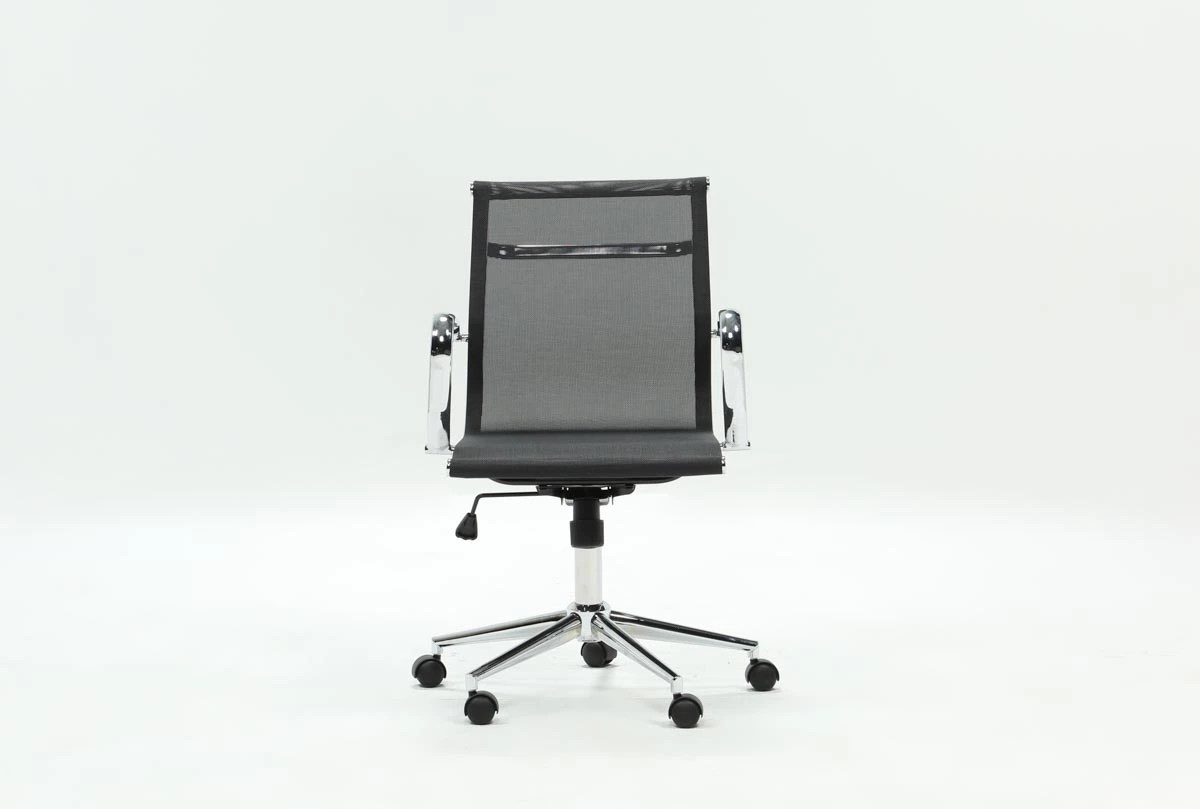 Grey Desk Chair Wendell Mesh Office Chair