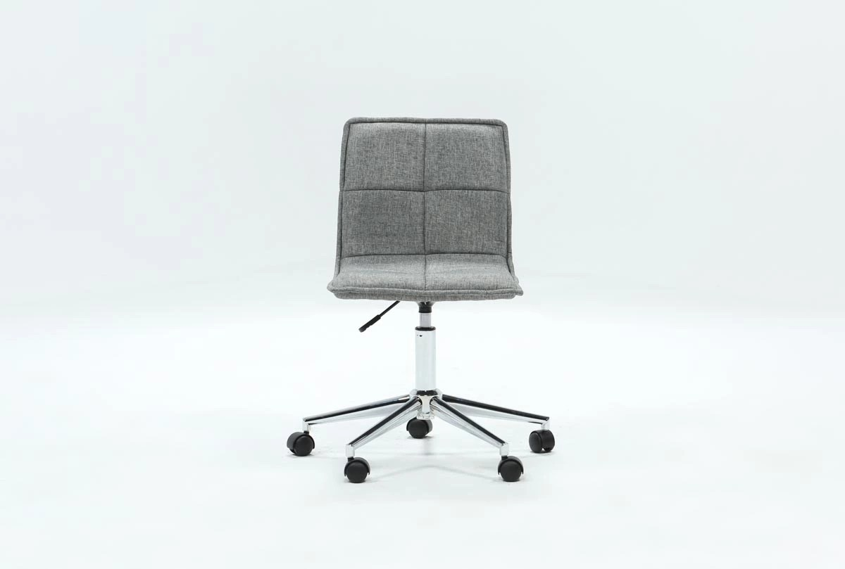 Grey Desk Chair Rudy Grey Office Chair
