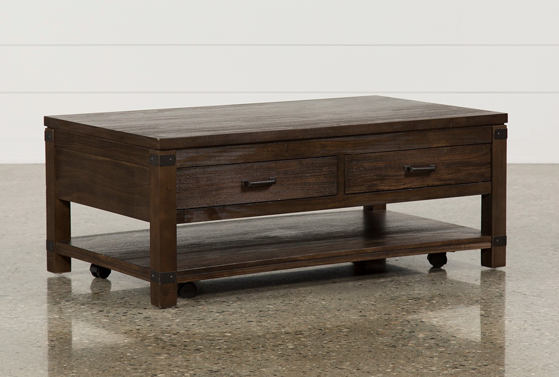 Coffee Table Images Livingston Coffee Table W Drawers Living Spaces