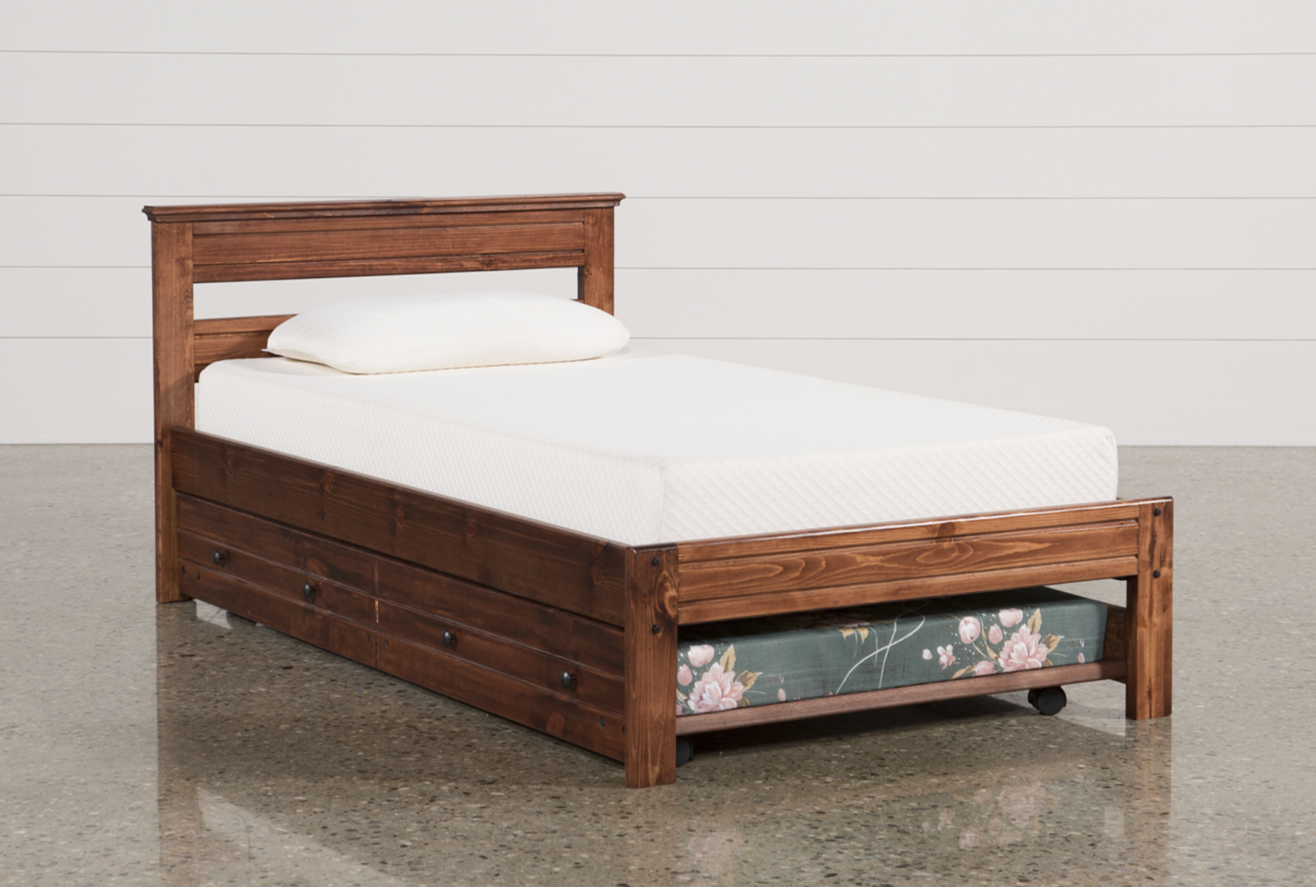 Mattress Platform Sedona Twin Platform Bed With Trundle With Mattress