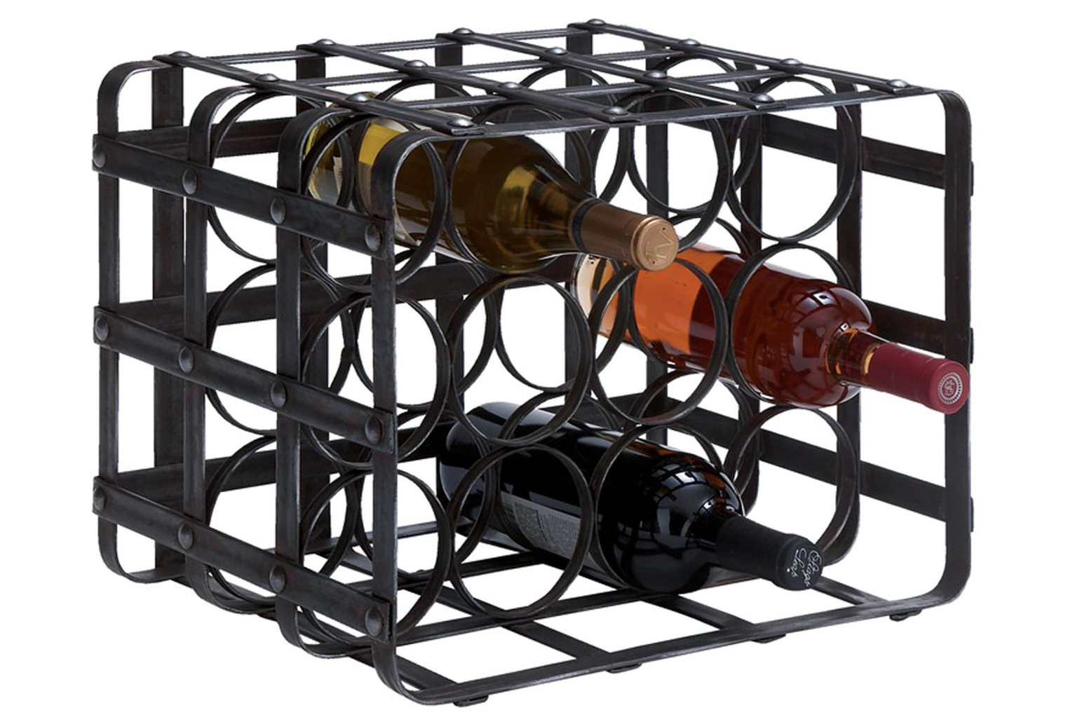 Metal Wine Racks 12 Inch Metal Wine Rack