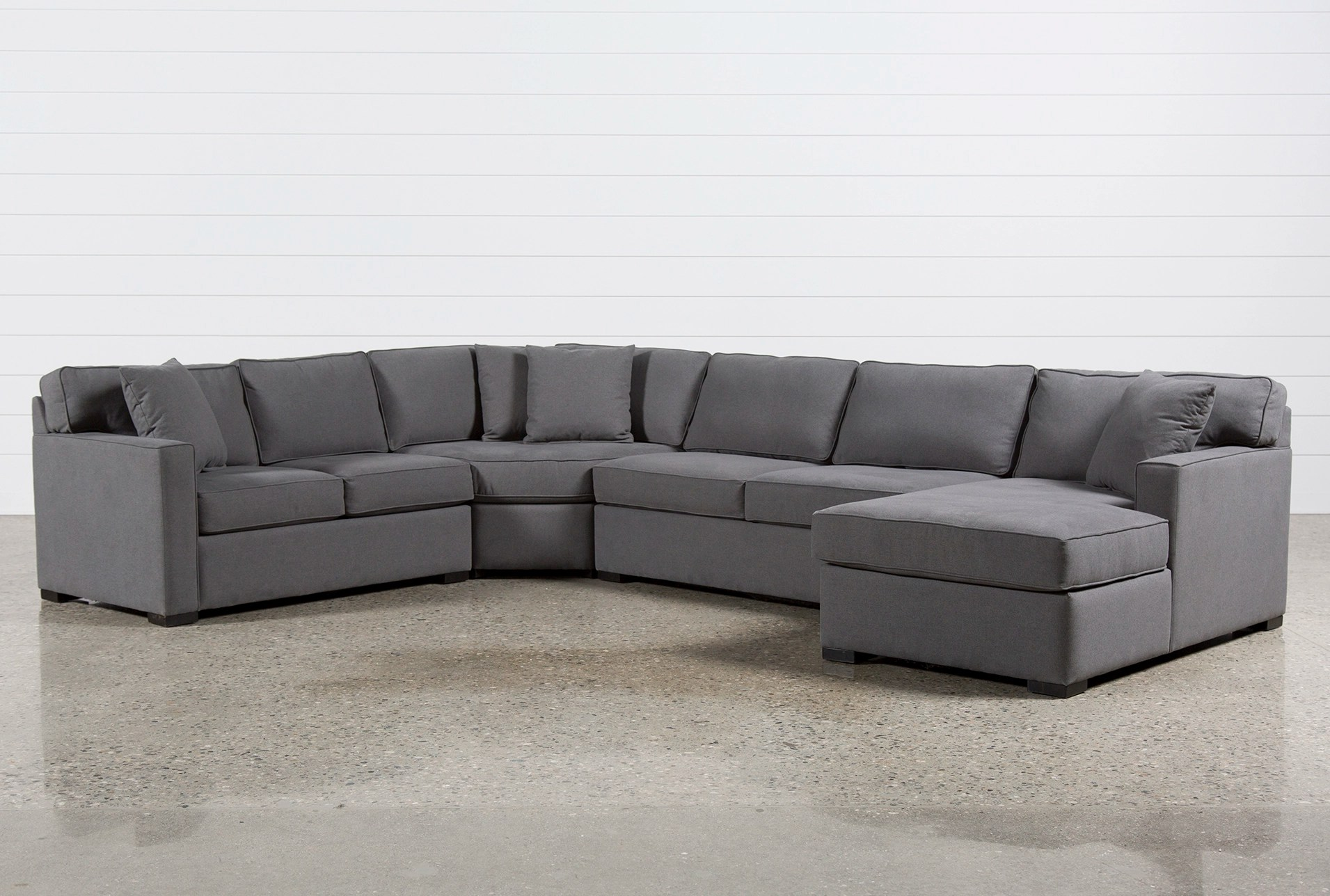 Grey Sofa In Lounge Sectionals Sectional Sofas Living Spaces