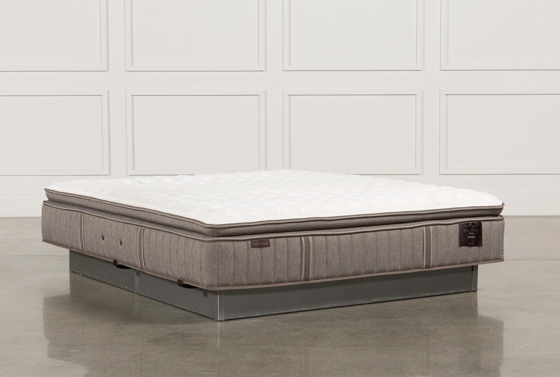 Pillow Top King Mattress Scarborough Firm Euro Pillow Top Eastern King Mattress