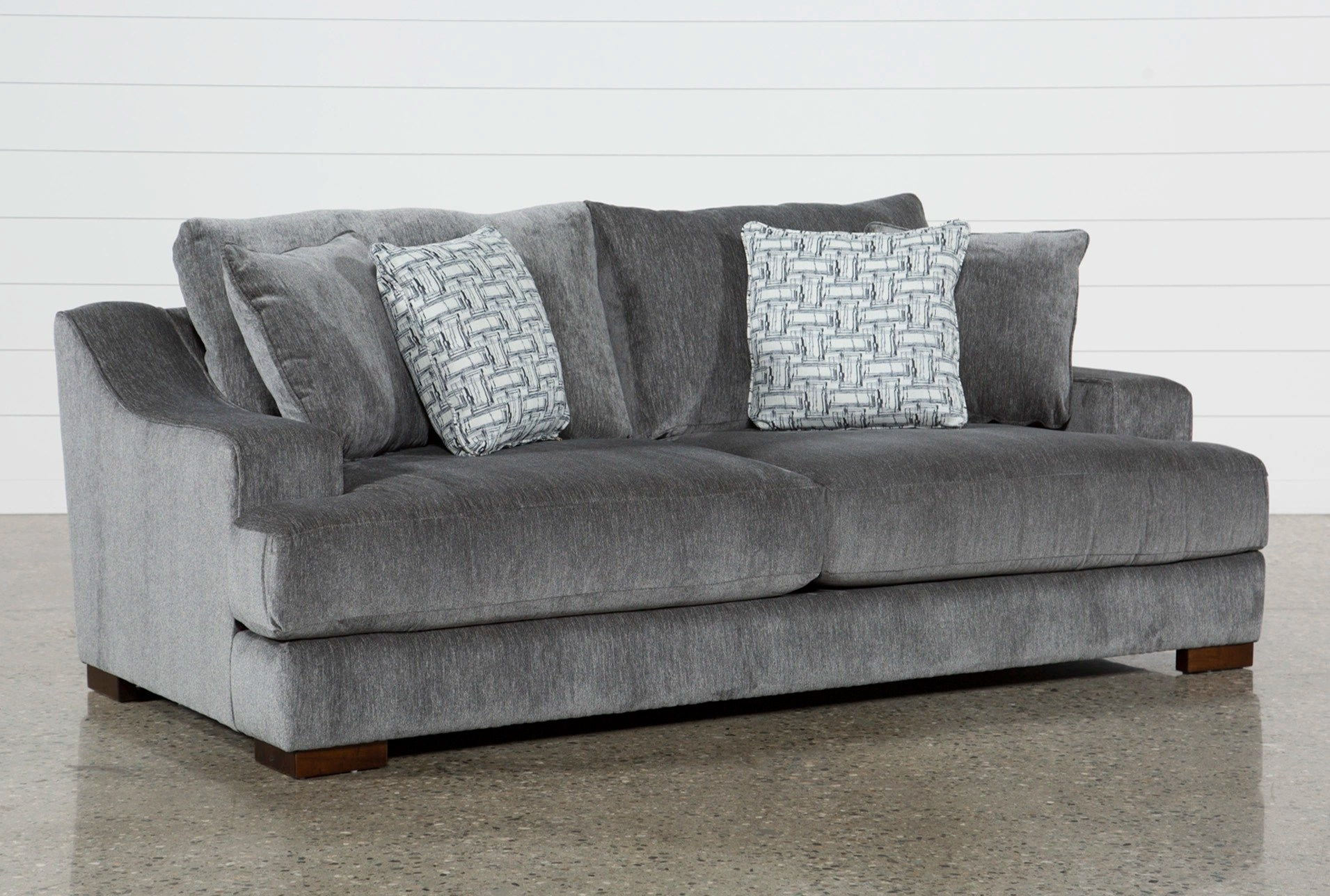 Klassische Sofas You Can Assemble Fabric Sofas Couches Free Assembly With Delivery Living Spaces