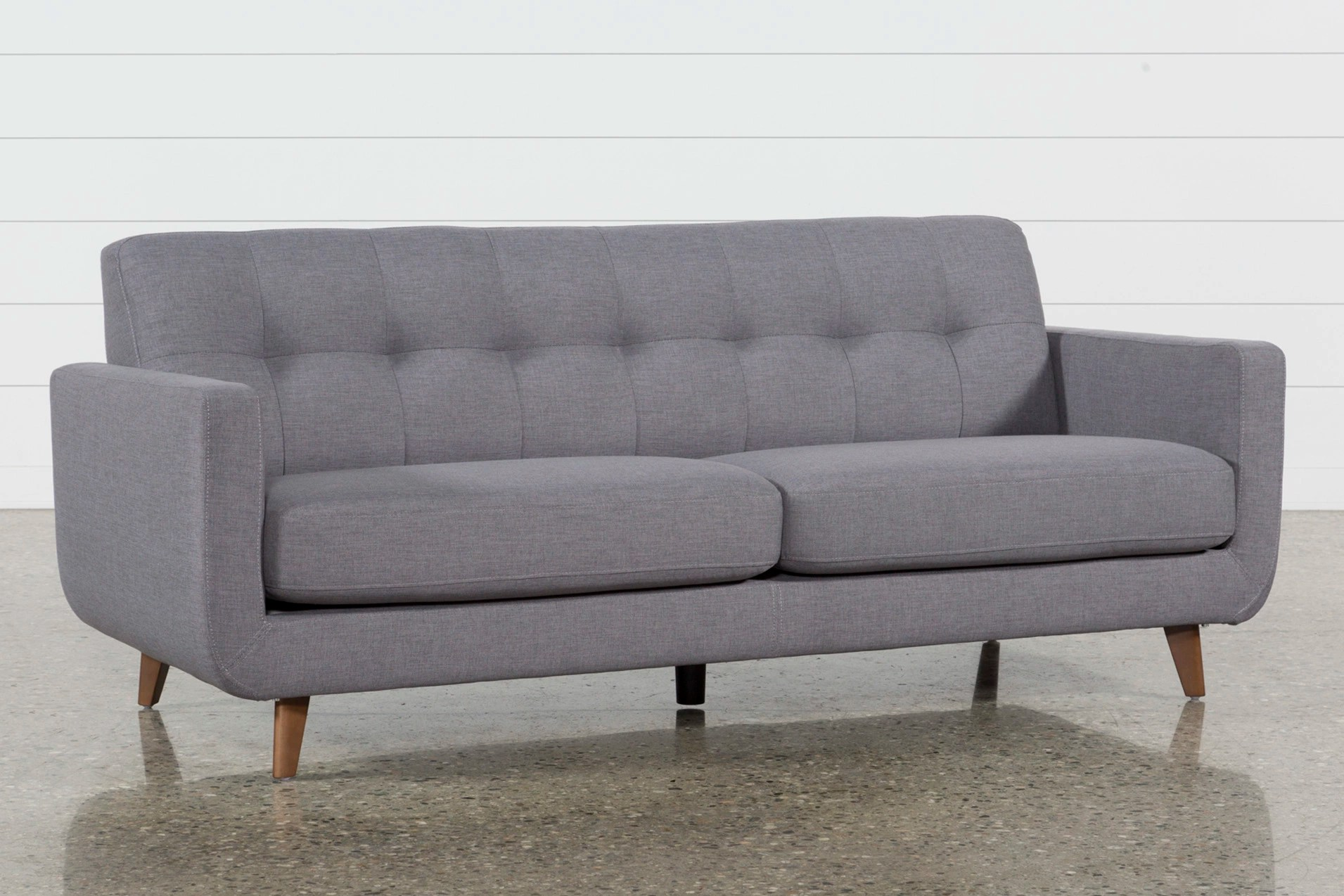 Couch Couch Allie Dark Grey Sofa