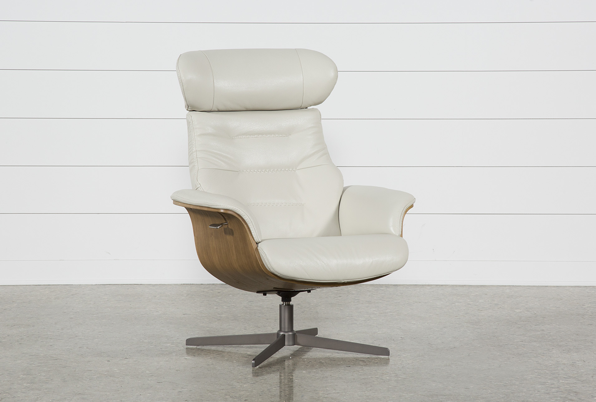 Chair Leather Reclining Swivel Amala Bone Leather Reclining Swivel Chair