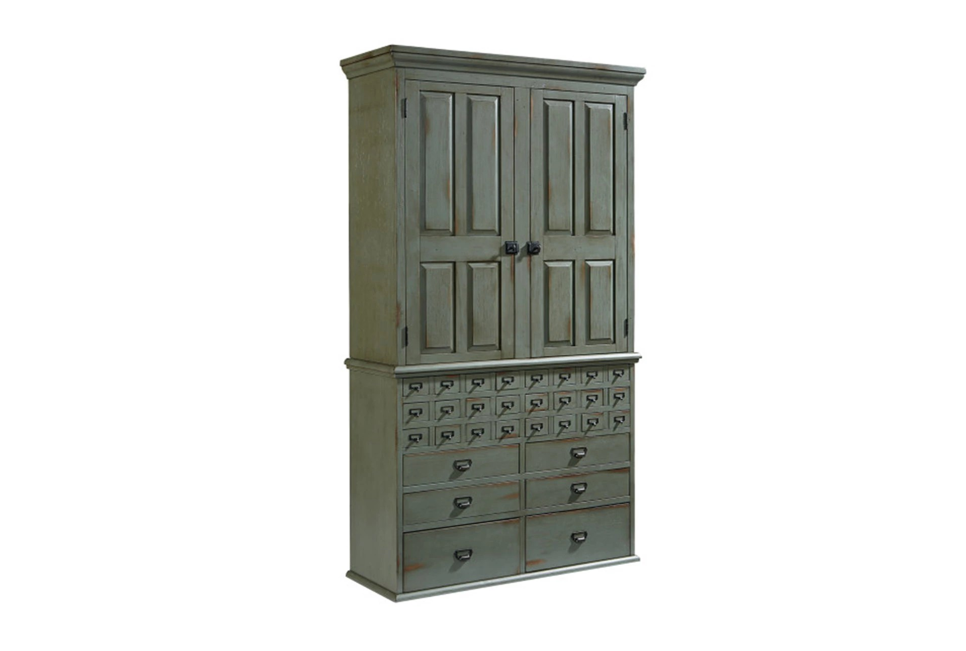 Dimension Armoire Magnolia Home Card Catalog 30 Drawer Armoire By Joanna Gaines