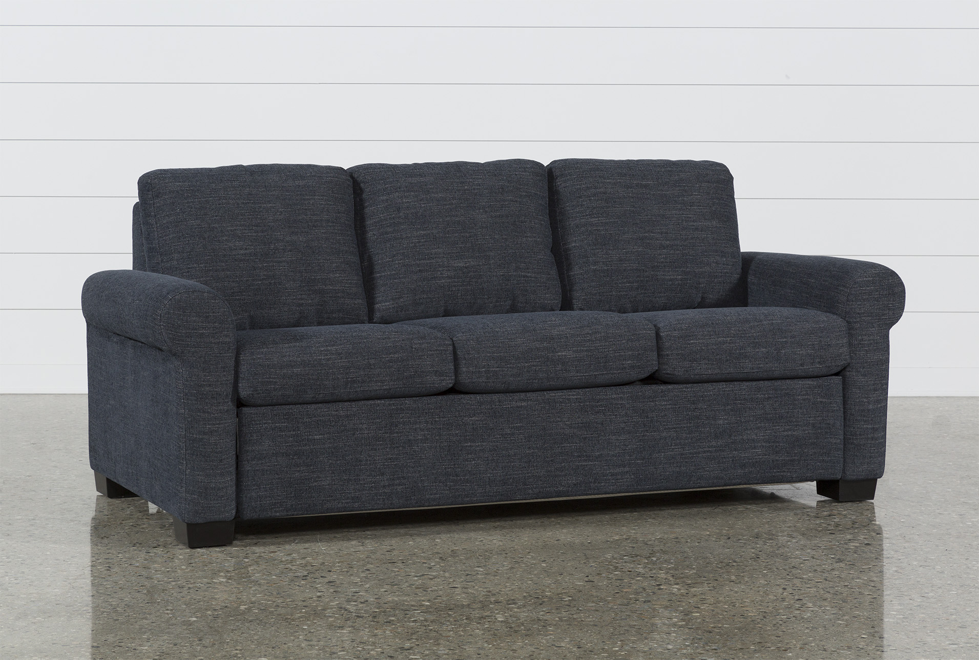 Sofa Dreams Outlet Alexis Denim Queen Plus Sofa Sleeper