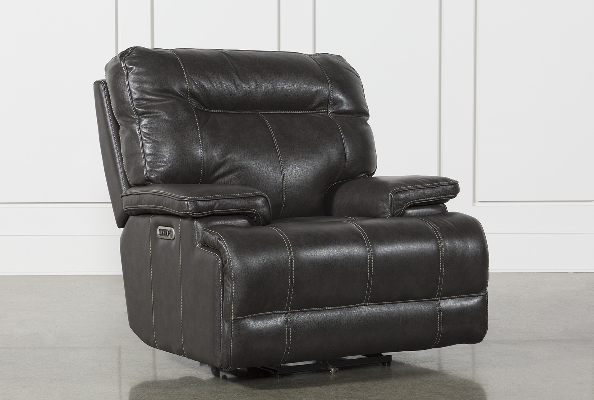 Divani Relaxer Chair Power Leather Recliner Chair