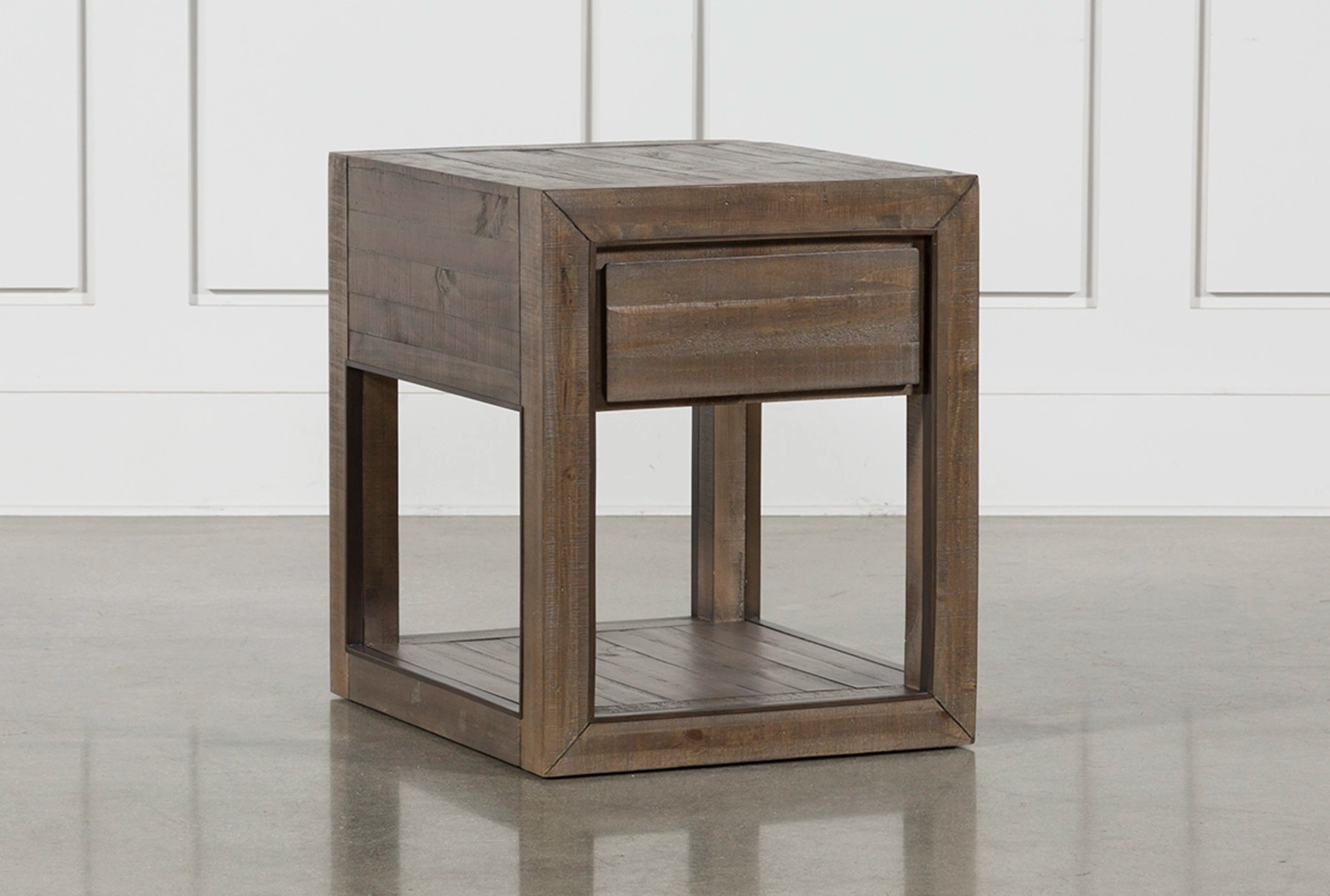 End Table For Living Room Lassen Rectangle End Table