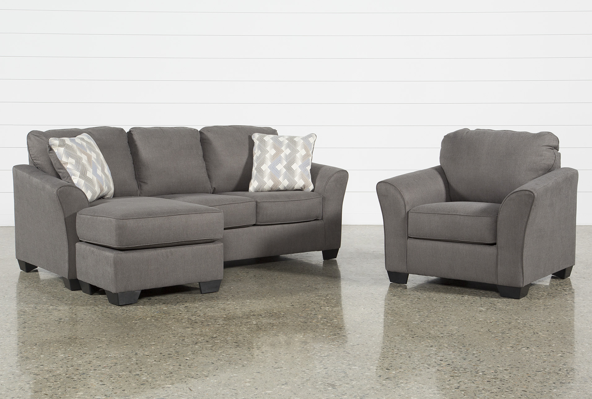 Arm Chairs Tucker 2 Piece Living Room Set With Queen Sleeper And Arm Chair