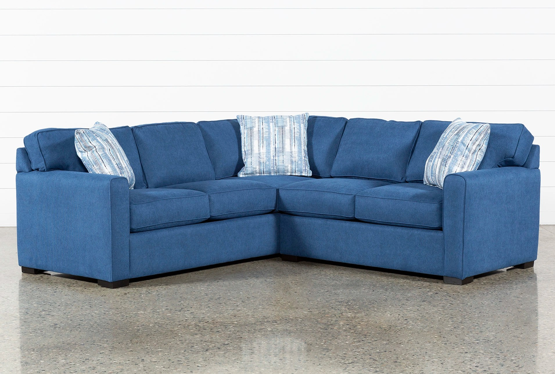 Blue Sectional Cypress Ii 2 Piece Sectional