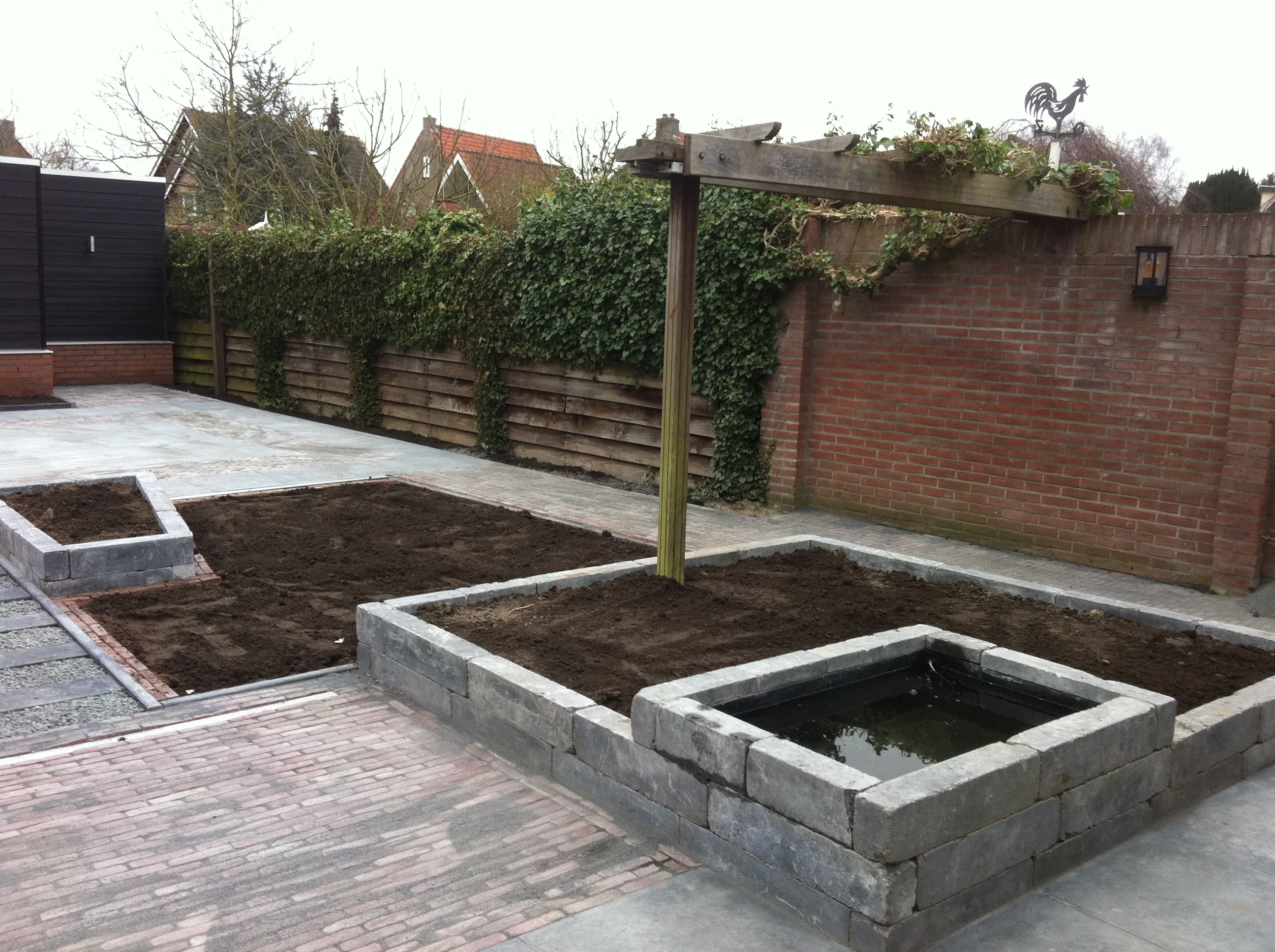 Betonnen Elementen Tuin Livingstone Goes Muurelementen And Stapelblokken