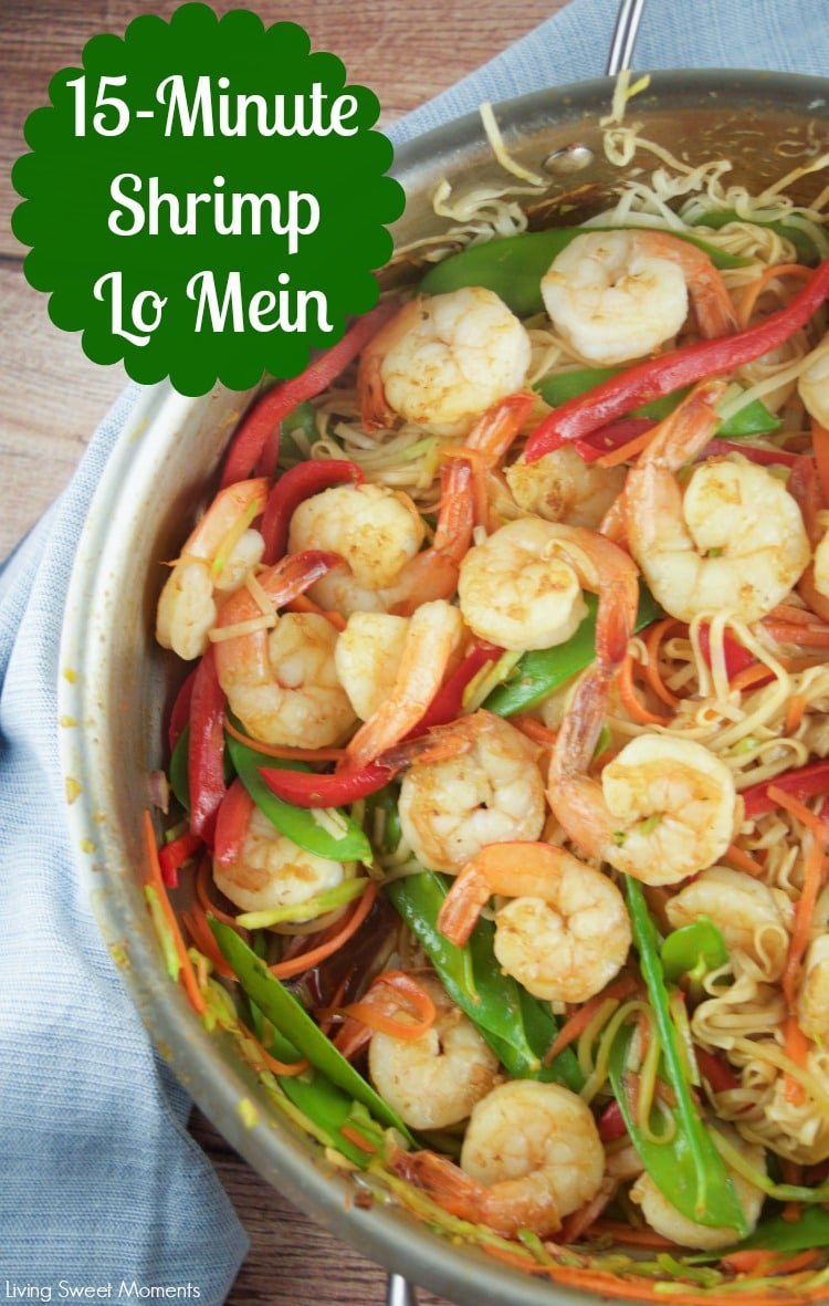 Stunning This Tasty Minute Shrimp Lo Mein Recipe Is Super Easy To Make Andrequires Few Deliciously Easy Minute Shrimp Lo Mein Living Moments Shrimp Lo Mein Protein Shrimp Lo Mein Real
